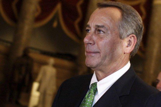 La décision du président de la Chambre, le... (Photo Molly Riley, Agence France-Presse)