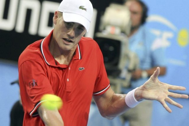 John Isner... (Photo Tony Ashby, Agence France-Presse)