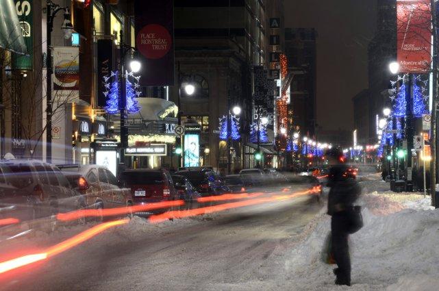 La rue des Carrières est une toute petite rue qui a le malheur d'être parallèle... (Photo Bernard Brault, archives La Presse)
