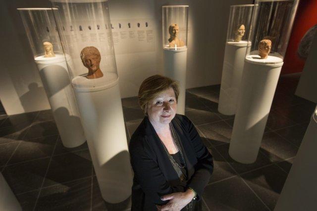 Francine Lelièvre, directrice générale du musée, mise encore... (Photo Ivanoh Demers, La Presse)