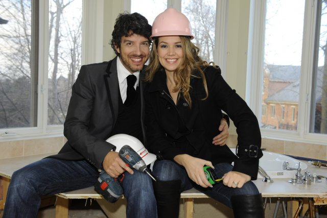 Jean Airoldi et Valérie Taillefer... (Photo fournie par Canal Vie)