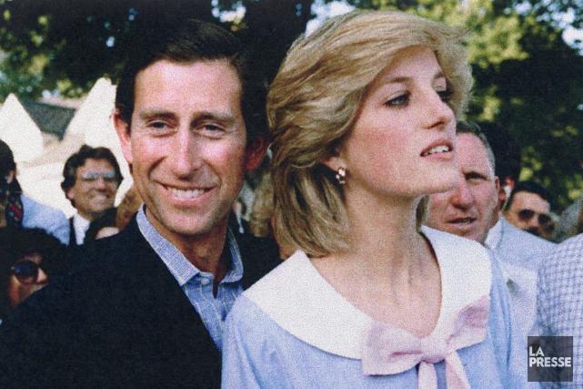 Lady Di et le prince Charles en 1983... (Archives La Presse)