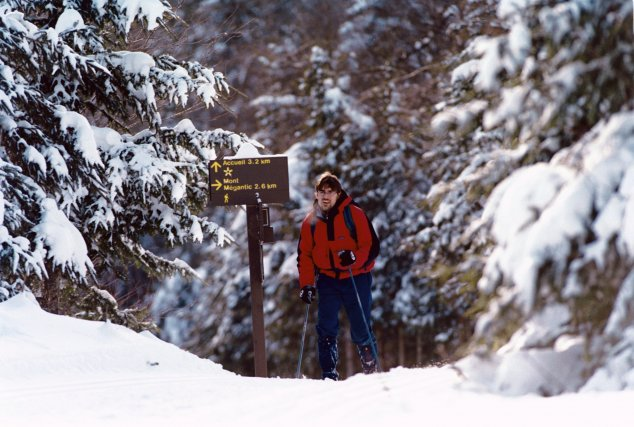 Le Parc national du Mont-Mégantic, à Notre-Dame-des-Bois, est à son meilleur... (Collaboration spéciale Parc national du Mont-Mégantic)
