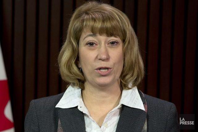 La semaine dernière, la ministre de l'Éducation, Laurel... (Photo La Presse Canadienne)