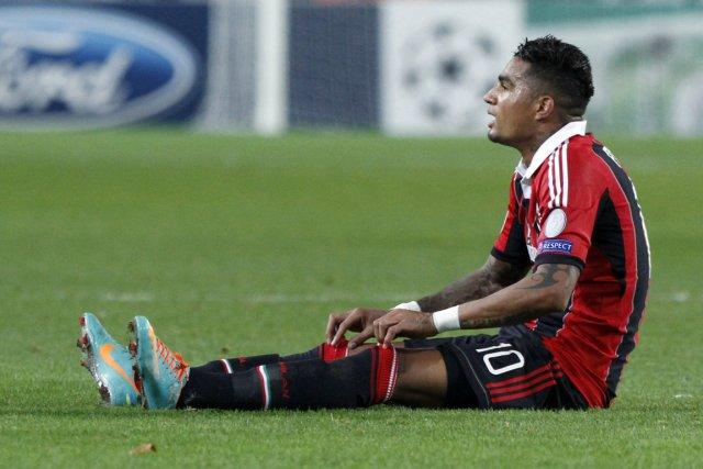 Kevin-Prince Boateng, de l'AC Milan, a été la... (Photo: Reuters)