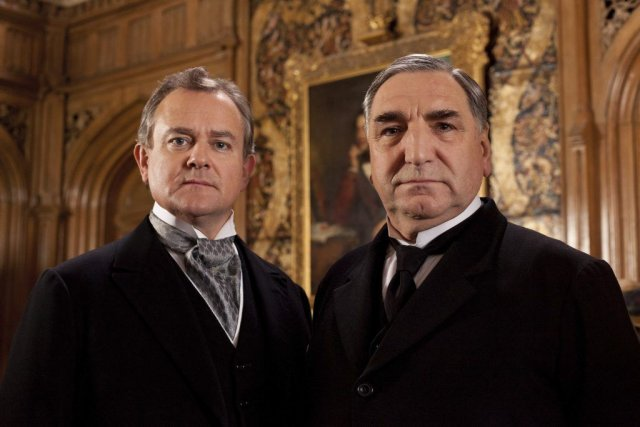 Hugh Bonneville dans le rôle de Lord Grantham... (Photo fournie par PBS)