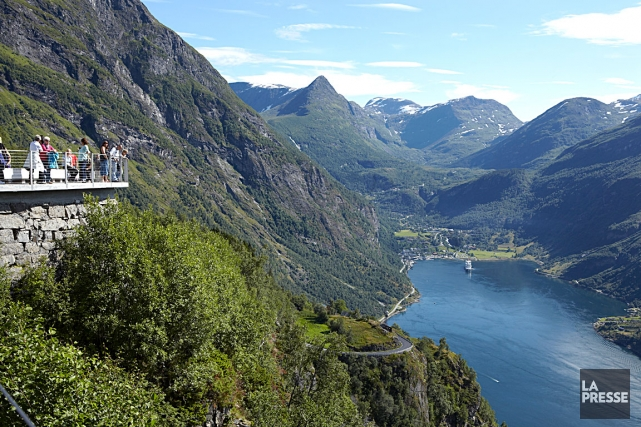 Le Geirangerfjord est l'un des endroits les plus... (Louise Bilodeau, collaboration spéciale)