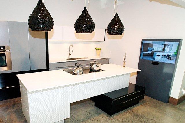 Rochon cuisines et salles de bains des espaces tendance for Nouvelle tendance salle de bain 2015
