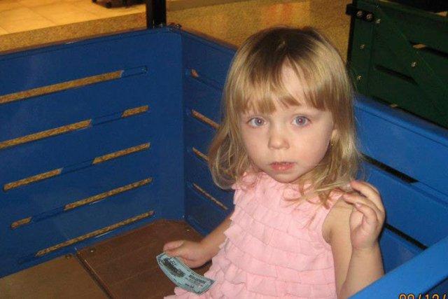 La petite Emy Rose Lambert, 2 ans, est... (Photo: courtoisie)
