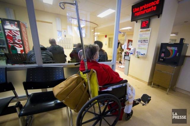 Les libéraux prévoyaient faire de l'hôpital de Lachine... (Photo André Pichette, archives La Presse)