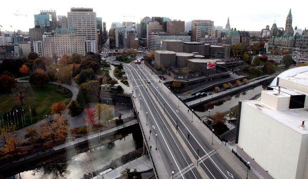 La capitale fédérale pointe au septième rang du classement des villes... (Étienne Ranger, Archives LeDroit)