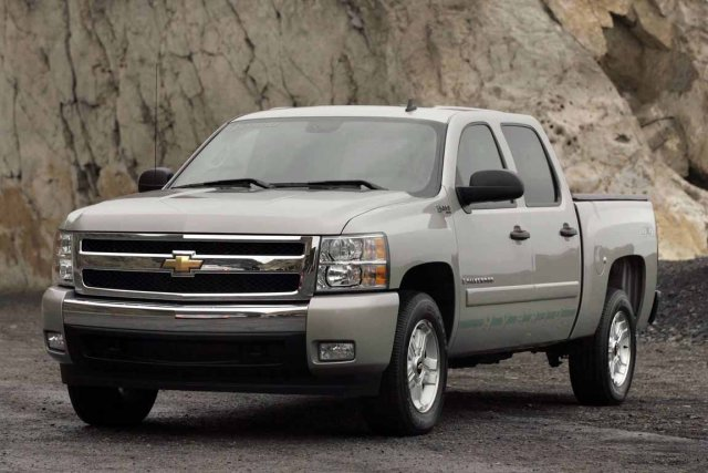 Le Chevrolet Silverado.... (Photo fournie par Chevrolet)