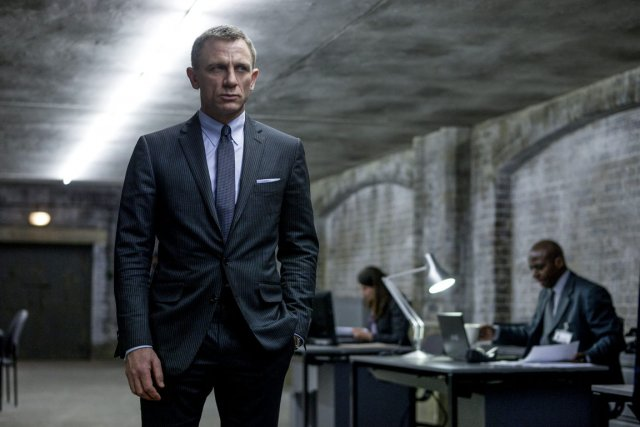 Daniel Craig a interprété le rôle de James... (Photo Francois Duhamel, Associated Press)