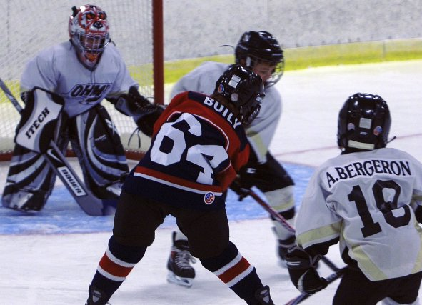 Les Patriotes de Saint-Bruno ont gagné 7-2 contre... (Photo Michel Tremblay)