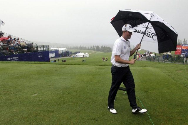 Webb Simpson... (Photo Elaine Thompson, Associated Press)