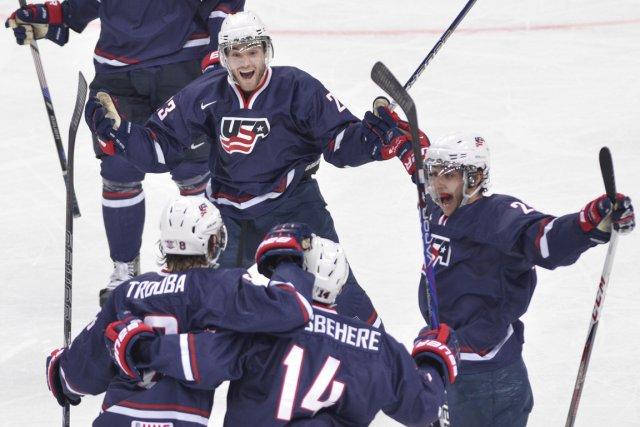 Les Américains avaient vaincu le Canada 5-1 en... (Photo : Nathan Denette, PC)