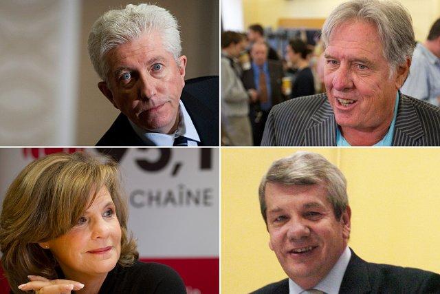 Gilles Duceppe, Pierre Curzi, Liza Frulla, Jean Doré... (Photo: archives La Presse)