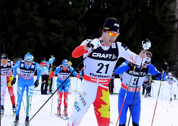 Alex Harvey, de St-Ferréol-les-Neiges, a fini troisième en... (Photo AP)