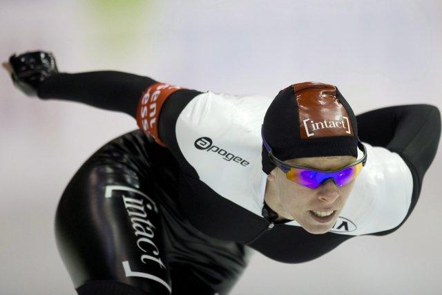Christine Nesbitta remporté une autre médaille d'or en... (PHOTO PETER DEJONG, AP)