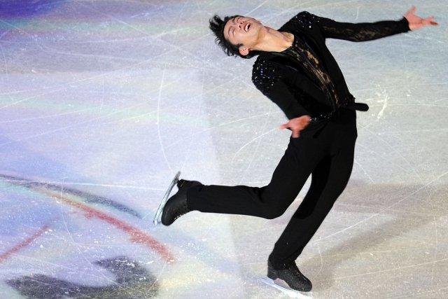 Daisuke Takahashi... (Photo : Alexander Nemenov, AFP)