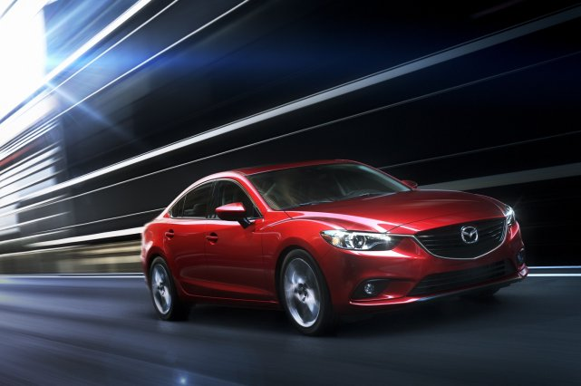 La Mazda6 2014... (Photo fournie par Mazda)
