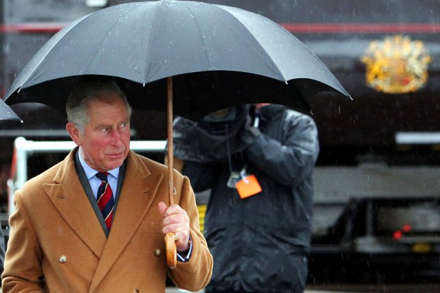 Le prince Charles, farouche défendeur de l'environnement, ... (PHOTO GEOFF CADDICK, ARCHIVES AFP)