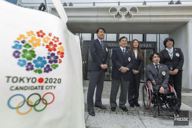 La délégation de la ville de Tokyo a... (Photo: AFP)