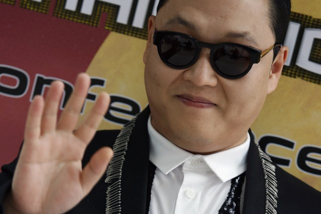 Le chanteur sud-coréen PSY.... (PHOTO REUTERS)