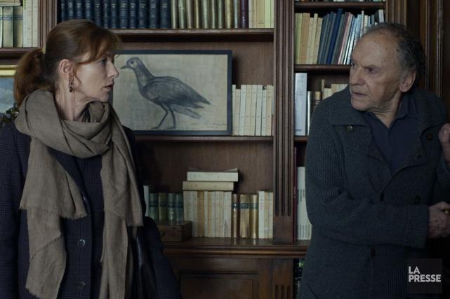 Isabelle Huppert et Jean-Louis Trintignant dans une scène... (Photo SPC/ Métropole Films)