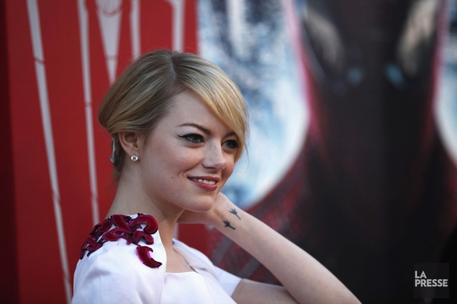 L'actrice Emma Stone.... (PHOTO MARIO ANZUONI, REUTERS)
