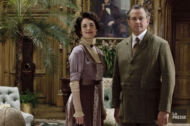 Lady Cora (Elizabeth McGovern) et Lord Robert (Hugh... (Photo fournie par la SRC)