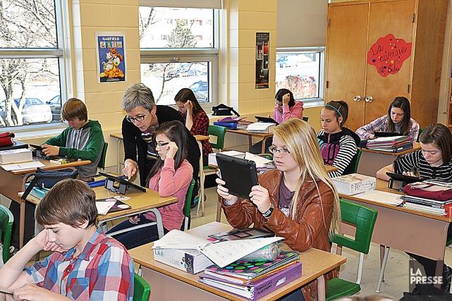 Dans la commission scolaire de Kamouraska-Rivière-du-Loup, 260 élèves... (Photo d'archives Marc Larouche, collaboration spéciale)