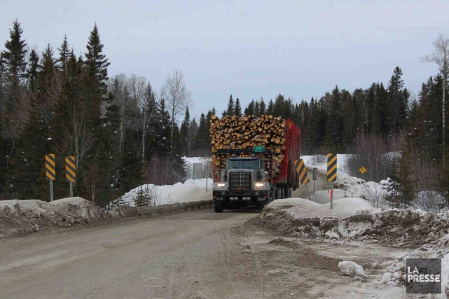 Après les entrepreneurs forestiers, c'est au tour des  entreprises de... (Archives Le Quotidien)