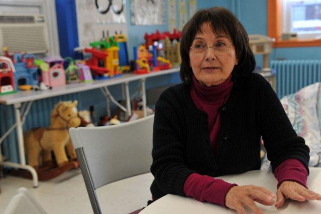 Suzelle Mongrain, directrice de la Maison de la... (Photo: Stéphane Lessard)