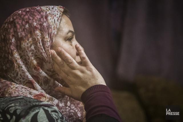 Cette femme marocaine est arrivée au Québec en... (Photo Olivier Pontbriand, La Presse)