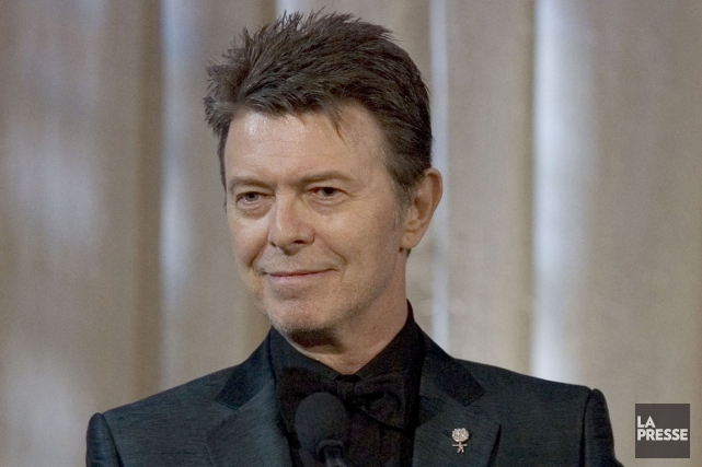 David Bowie lance une nouvelle chanson le jour... (Photo Stephen Chernin, archives Associated Press)