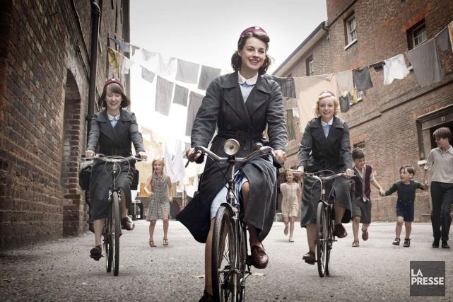 En Angleterre, SOS sages-femmes a remporté un succès... (Photo fournie par Télé-Québec)