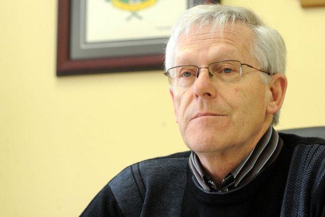 René Bourassa, maire de Saint-Barnabé.... (Photo: Stéphane Lessard)