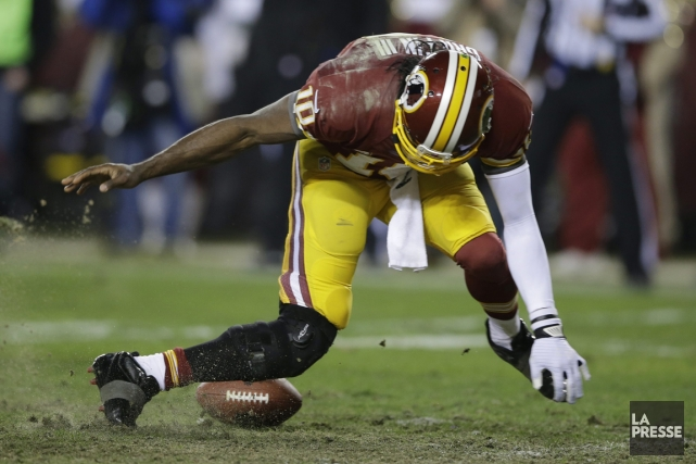 Le quart des Redskins Robert Griffin III a... (Photo: AP)