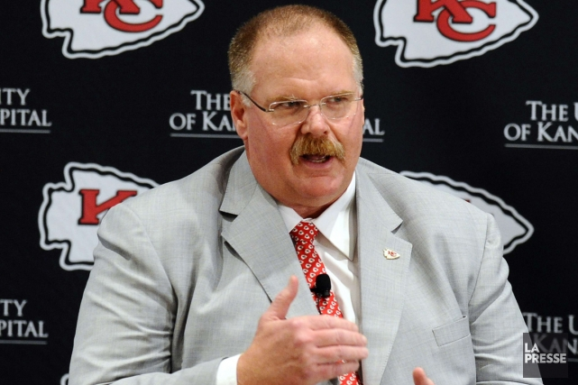 Le nouvel entraîneur-chef des Chiefs de Kansas City,... (Photo: Reuters)