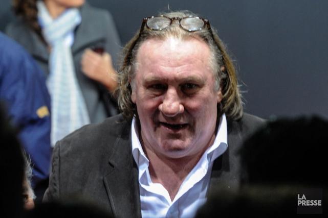 Gérard Depardieu devait se rendre mardi à une... (PHOTO SEBASTIEN BOZON, AGENCE FRANCE-PRESSE)
