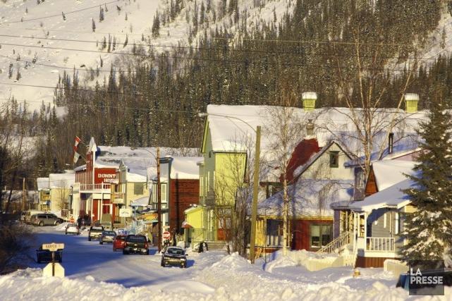 Au Yukon, les jours sont courts au mois... (Photo: Marie Tison, La Presse.)