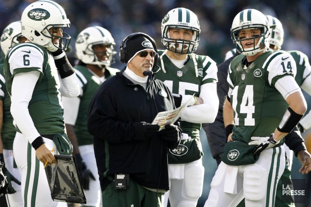 Le coordonnateur offensif des Jets de New York,... (Photo: Reuters)