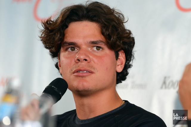 Milos Raonic participera au tournoi de Kooyong, à... (Photo: AFP)