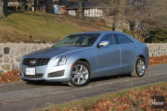 Les dimensions de la nouvelle Cadillac ATS sont... (Photo Jacques Duval, collaboration spéciale)