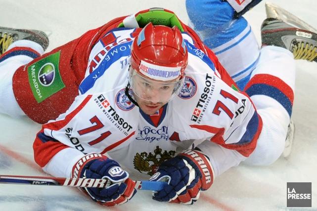 Certains reportages en Russie ont avancé qu'Ilya Kovalchuk... (Photo: AFP)