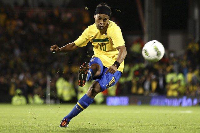 Ronaldinho... (Photo: archives Reuters)