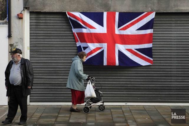 De nouveaux troubles pourraient intervenir mercredi, l'Union Jack... (Photo: Reuters)