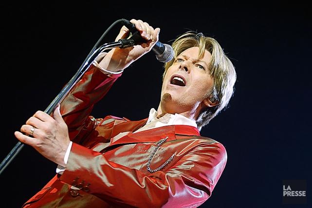 David Bowie a mis en ligne sa première... (Photothèque Le Soleil)