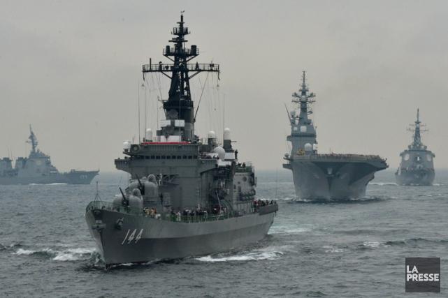 En pleine crise diplomatique avec la Chine, le nouveau gouvernement... (Photo: AFP)